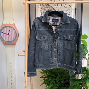 Vintage Burberry Jean Jacket